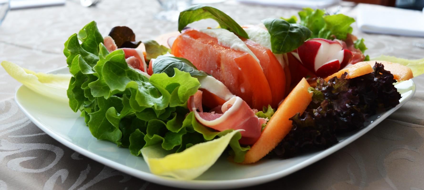 Salades Mont dor Restaurant Lausanne