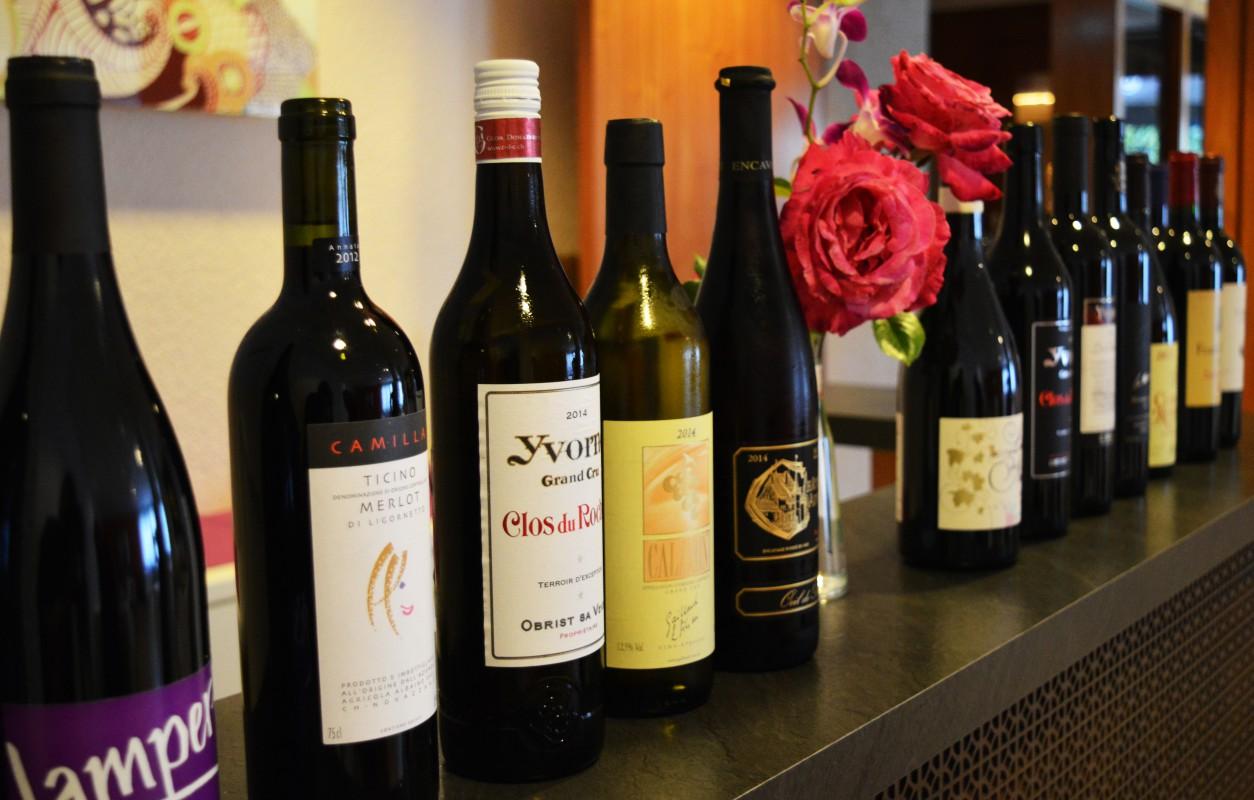 Vins suisses Mont dor Restaurant Lausanne